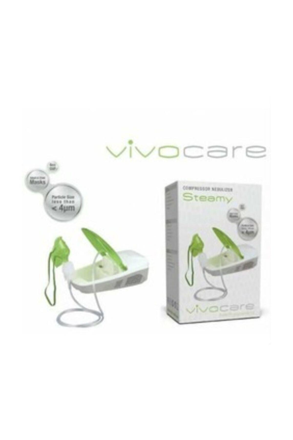 PlusMed Vivocare Steamy Kompresörlü Nebulizatör Cihazı - Buhar Makinesi 1