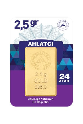 Ahlatcı 24 Ayar - 2.5g Altın