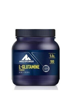 Multipower L-glutamine 500 Gr +2hediye