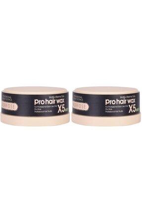 Morfose Pro Hair Wax X5 Matt 150 Ml 2 Adet Yeni Ambalaj