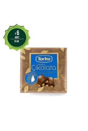 Torku Kare Fındıklı Sütlü Çikolata 65 gr X6