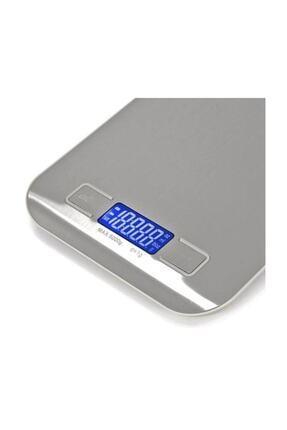 Gomax Çelik Mutfak Terazisi - Dijital Tartı 5kg/1gr