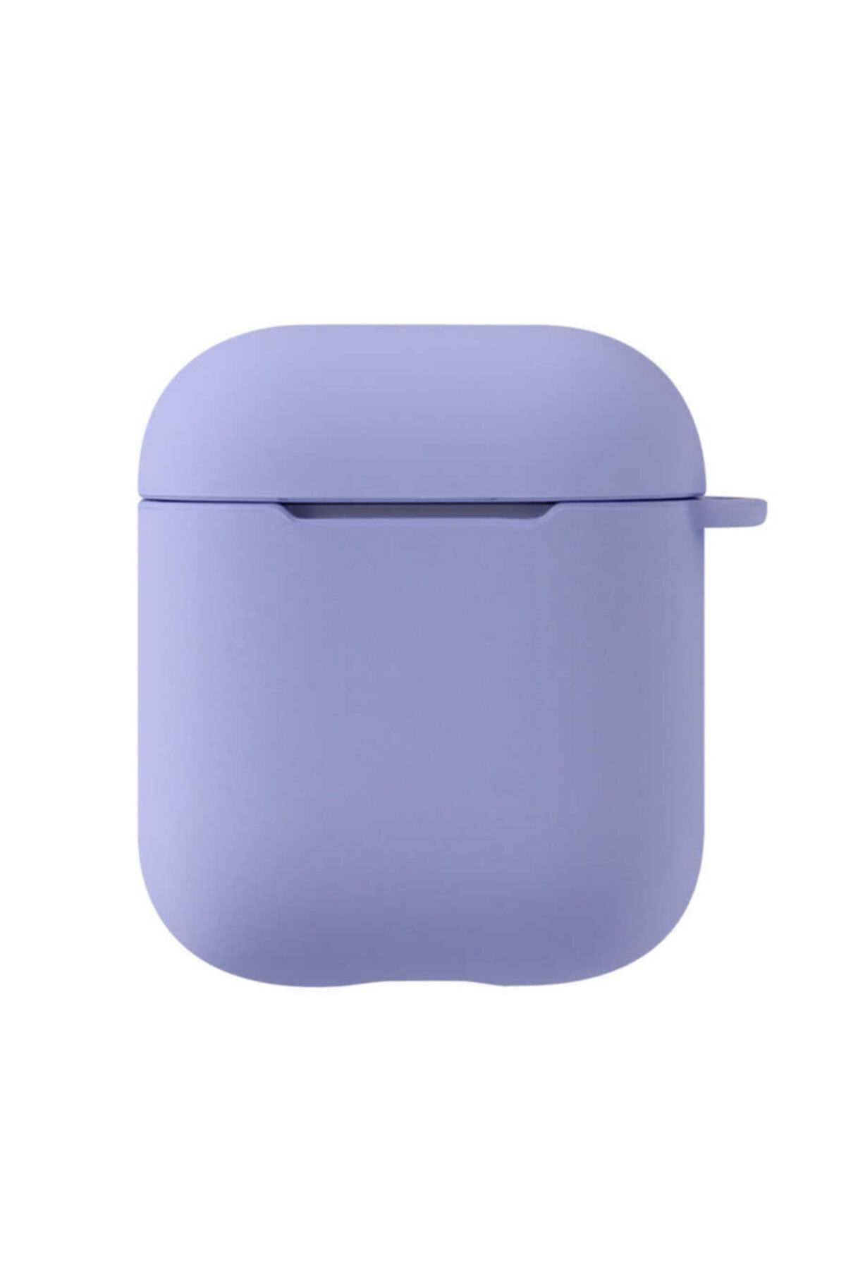 zore Darbe Emici Wireless Şarj Destekli Mat Renkli Silikon Askılı Kancalı Airpods Kılıf 1