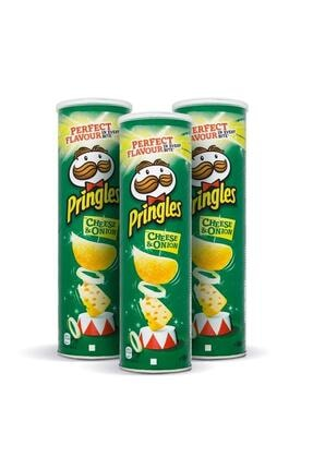 Pringles Int Prıngles 165gr Peynır Sogan X3