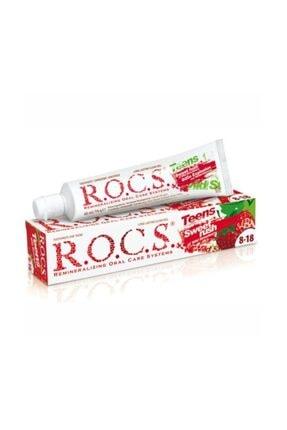 R.O.C.S. Rocs Teen 8-18 Yaş Yaban Çileği Tadında Diş Macunu - 74 Gr