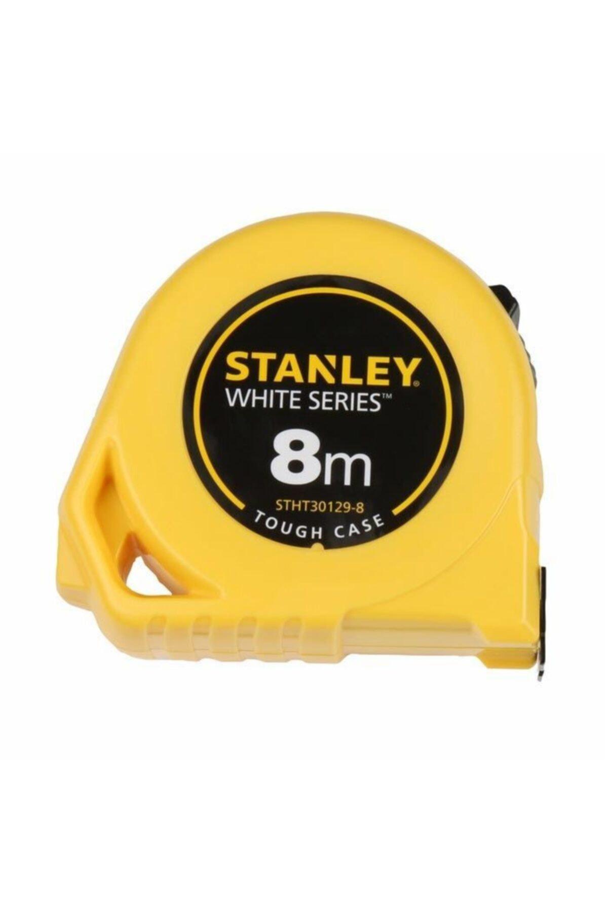Stanley Beyaz Şeritli Metre 8m x 25mm Stht30129-8 1
