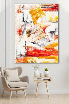 Hediyeler Kapında Sürreal Dekoratif Saflık Kanvas Tablo 70x100 cm