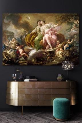 Hediyeler Kapında Rönesans Ruhlar Alemi Kanvas Tablo 70x100 cm