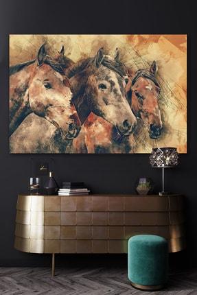 Hediyeler Kapında Çiftlik Kanvas Duvar Tablo 70x100