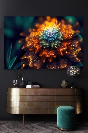 Hediyeler Kapında Lighting Kanvas Duvar Tablo 70x100