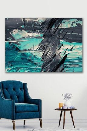 Hediyeler Kapında Yağlı Boya Görünümlü Fresh & Black Kanvas Tablo 90x130