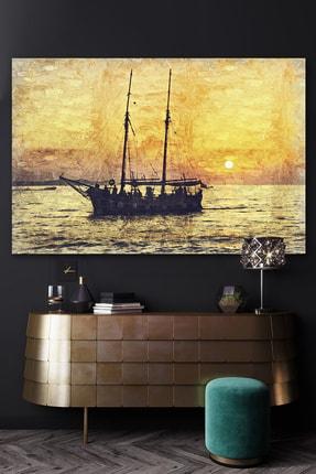 Hediyeler Kapında Yorgun Denizci Kanvas Duvar Tablo 100x140