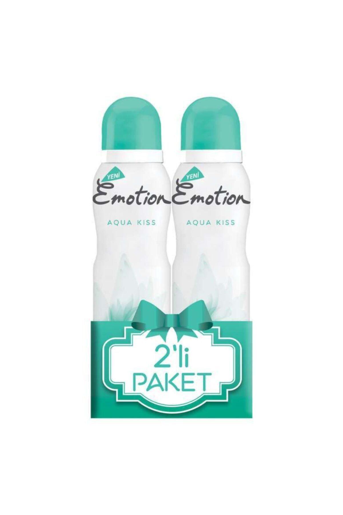 Emotion Aqua Kiss 2'li 150 Ml Kadın Deodorant 1