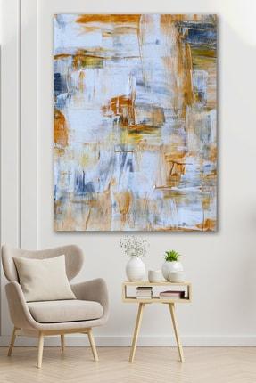 Hediyeler Kapında Geniş Fırçalar Sürreal Kanvas Tablo 100x140cm