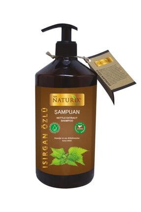Naturix Tüm Saç Tipleri İçin Doğal Isırgan Otu Özlü 600 ml Saç Bakım Şampuanı