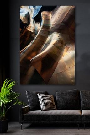 Hediyeler Kapında Mekanik Tema Kanvas Duvar Tablo 100x140