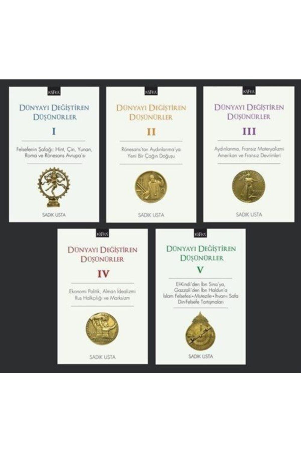Kafka Yayınevi Dünyayı Değiştiren Düşünürler Seti (5 Kitap) 1