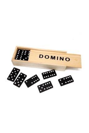 Keskin Hediyelik Ahşap Saklama Kutulu Domino Taşı Hobi Oyunu Seti