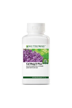 Amway Calcium Magnesium D Plus Nutrıway 180 Tablet