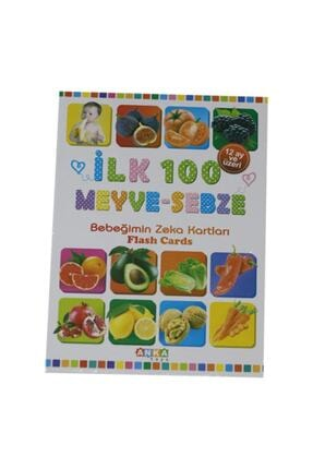 Anka Bebek Zeka Kartları Ilk 100 Meyve