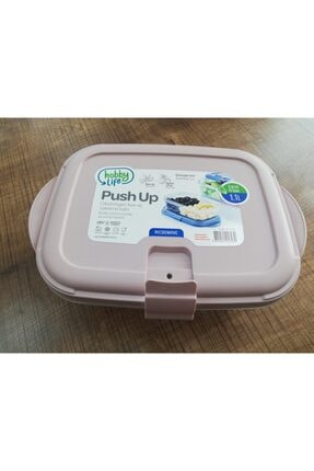 HOBBY LİFE Yeni Ürün 1.1 Lt. Saklama Kabı Push Up-bas Aç