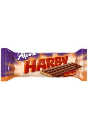 Alpella Harby Karamelli Kaplamalı Bisküvi 25 Gr 24 Adet