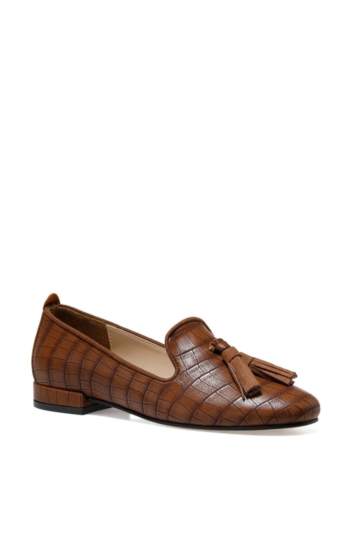 İnci CELA Taba Kadın Loafer Ayakkabı 101025783 2