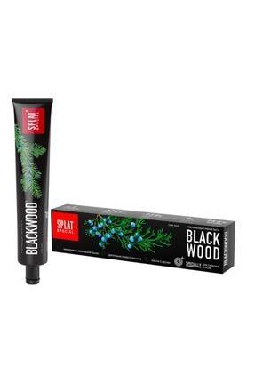Splat Blackwood Siyah Diş Macunu 75 Ml Güçlü Beyazlatma