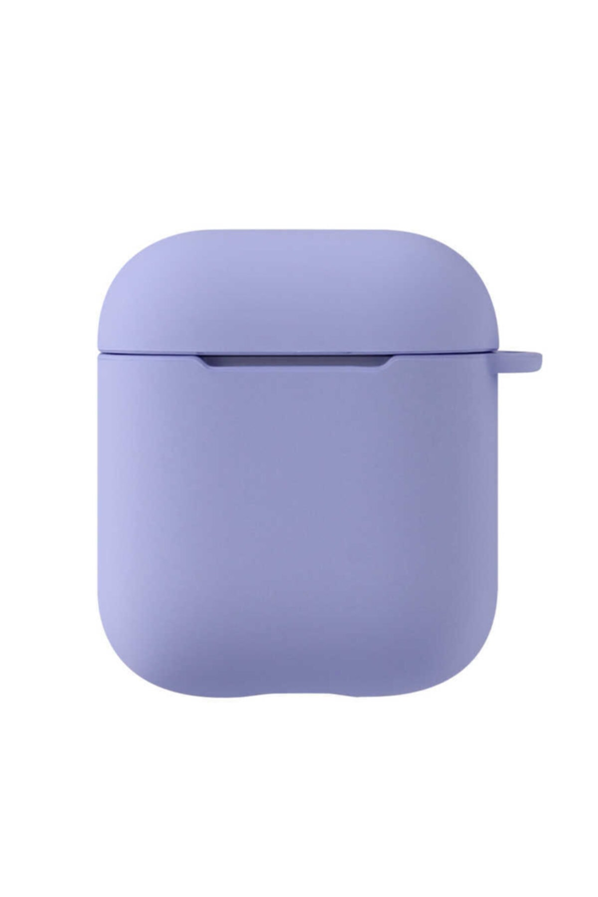 zore Apple Airpods Uyumlu Darbe Emici Wireless Şarj Destekli Soft Görünüm Mat Renkli Silikon Askılı Kılıf 1