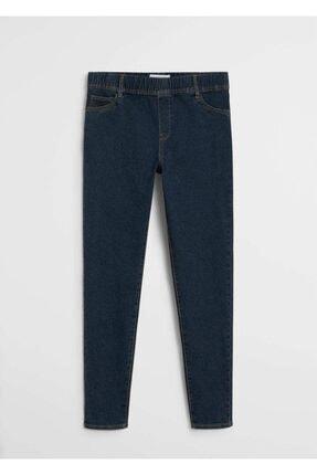 Violeta by MANGO Kadın Mavi Massha Jegging Jeans