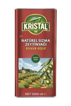 Kristal Naturel Sızma Zeytinyağı Dolgun Güçlü 5 lt