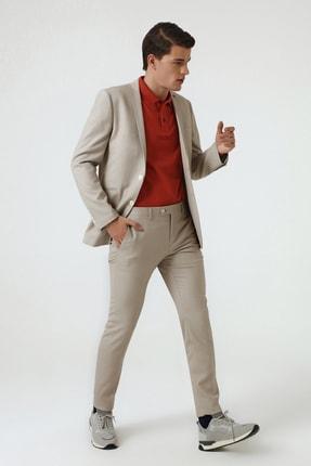 Twn Bej Renk Erkek  Takım Elbise (Slim Fit)