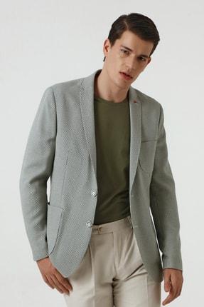Twn Yeşil Renk Erkek  Ceket (Slim Fit)