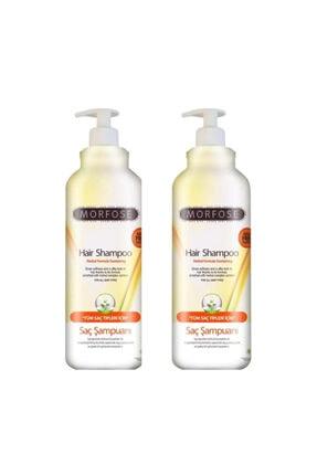 Morfose Tuzsuz Şampuan Tüm Saçlar Için 1000 ml 2'li Set
