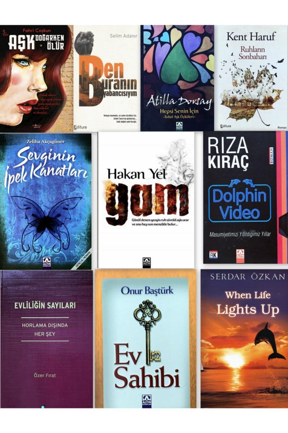 Altın Kitaplar En Sürükleyici Aşk Romanları Seti (10 Kitap) - Süper Indirim! 1