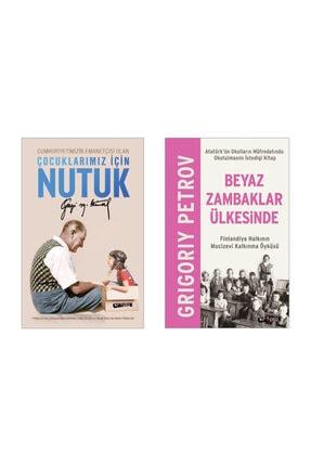Kripto Basım Yayın Çocuklar Için Nutuk - Atatürk , Beyaz Zambaklar Ülkesinde (tam Metin) - Griygoriy Petrov (ikili Set)