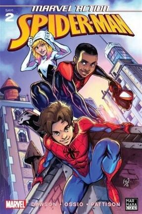 Marmara Çizgi Yayınları Marvel Action Spiderman 2