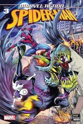 Marmara Çizgi Yayınları Marvel Action Spiderman 3
