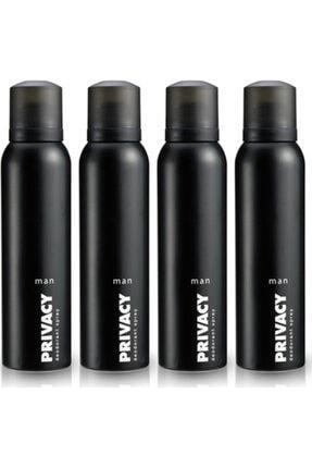 Privacy Erkek Deodorant 150 Ml X4
