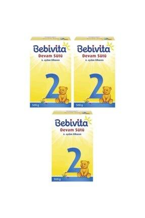 Bebivita 2 Devam Sütü 500 gr 3 Adet