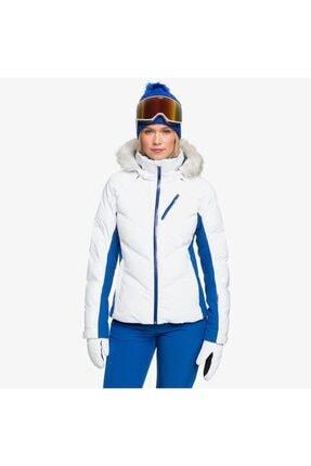 Roxy Kadın Beyaz Snowstorm Kayak Ve Snowboard Montu Erjtj03257wbb0