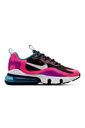 Nike Kadın Pembe Karışık Renkli Air Max 270 React  Spor Ayakkabı Bq0101-001