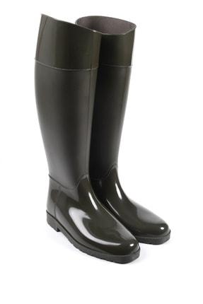 Sapin Kadın Haki Yağmur Çizmesi 33002