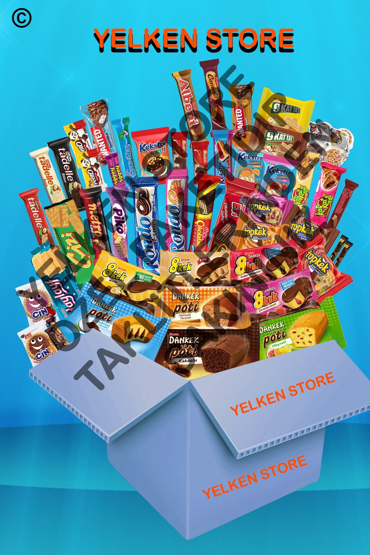 Ülker Keyfi Tadında Çikolata Fırsat Paketi Xxlarge 51 Parça 1