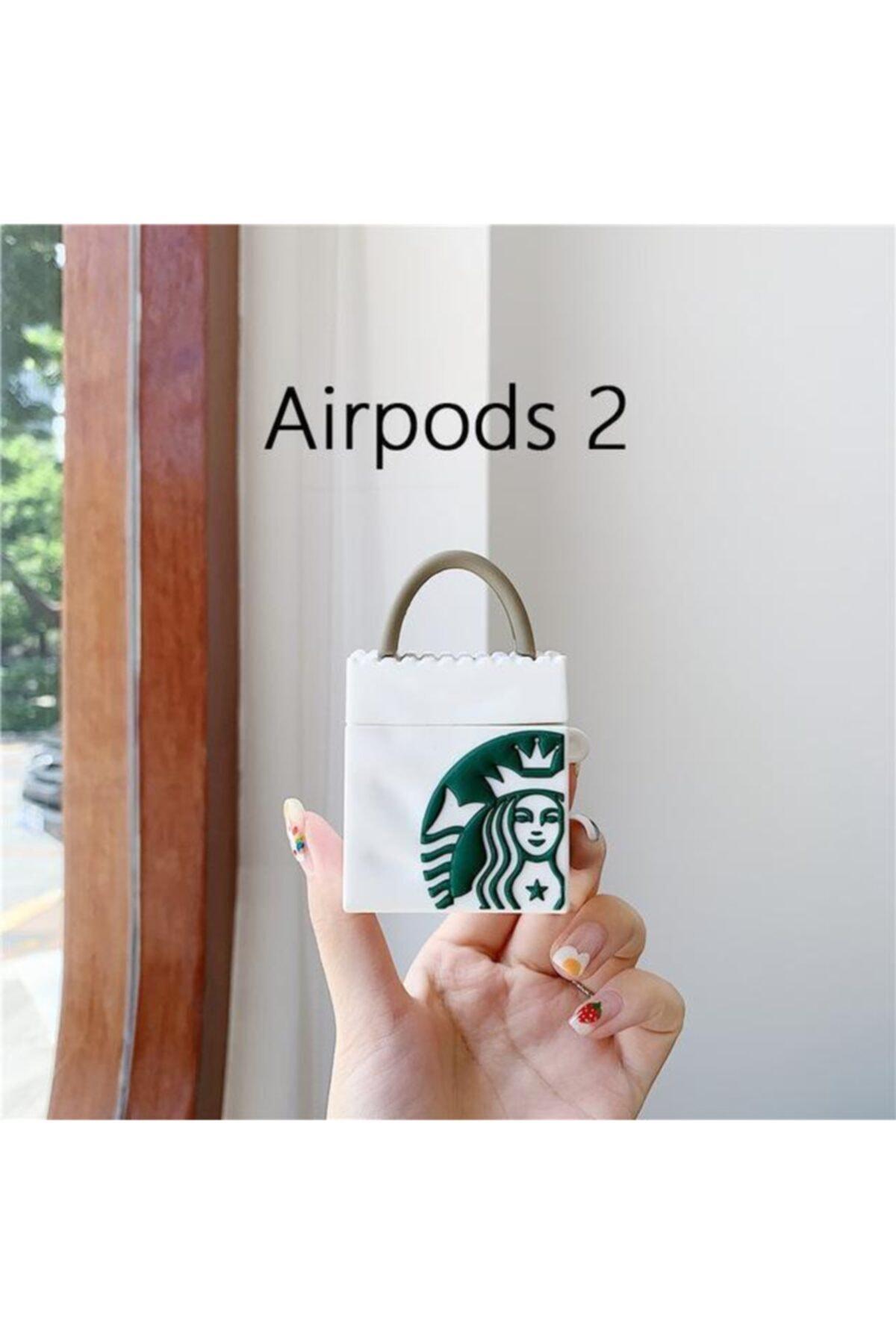 Bilişim Aksesuar Apple Airpods Koruyucu Kılıf Kahve Çanta - Airpods 1 Ve 2 2