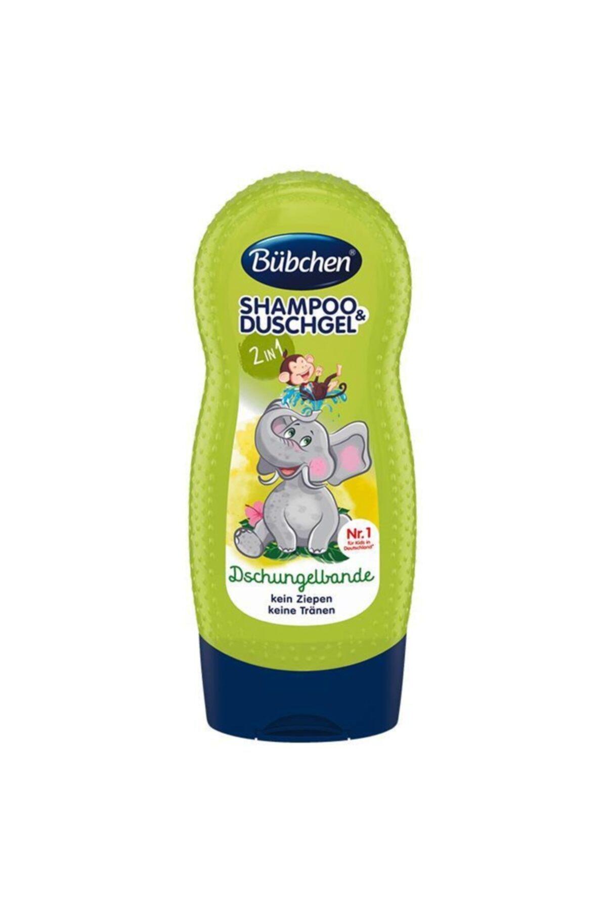 Bübchen Çocuk Şampuan&duş Jeli Tropıc Jungle 230ml 1