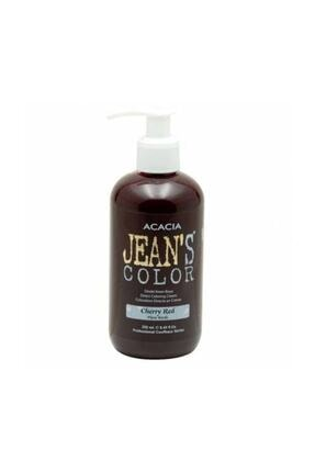 Acacia Jeans Color Amonyaksız Su Bazlı geçici Saç Boyası 250Ml Akaju Bakır