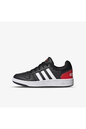 adidas Unisex Çocuk Siyah Basketbol Ayakkabısı Hoops 2.0 K