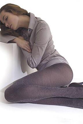 Penti Kadın Gri 60 Den Koton Külotlu Çorap