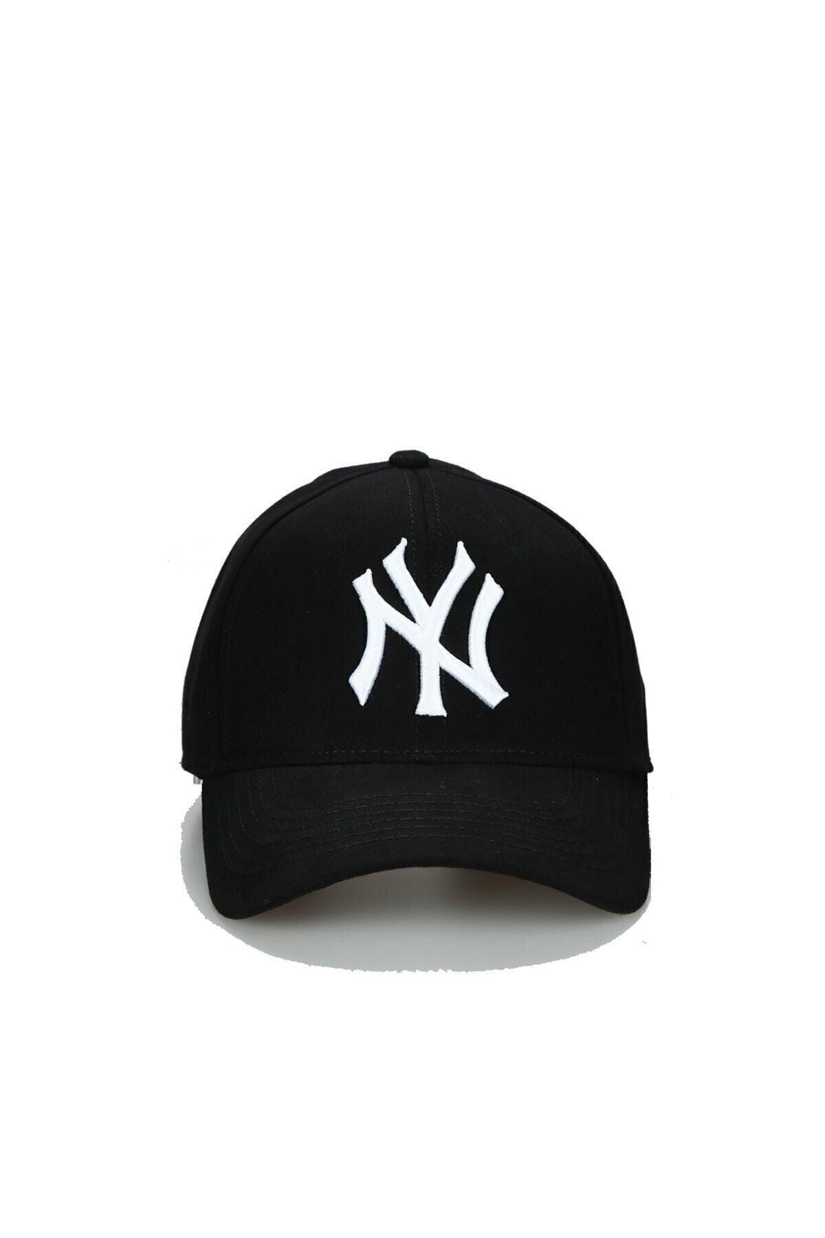 NuxFah Unisex Siyah Ny New York Şapka 1